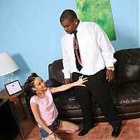 interrcial teen cuckold2 tn Petite girl Amai Liu fucks a black guy in front of her daddy