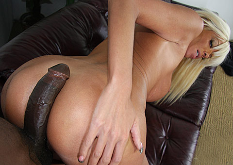 4 Busty blonde MILF Jordan Blue gets picked up by a hung black