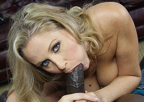 3 Hung black picking up and banging busty blonde MILF Julia Ann