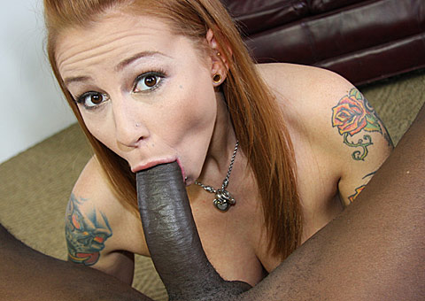 3 Hung black picking up big boobed Scarlett Pain