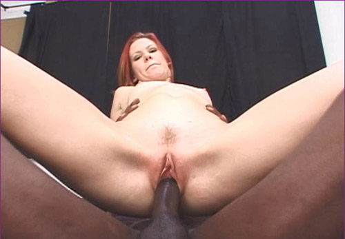 ip6 2 Red haired chick loves black meat
