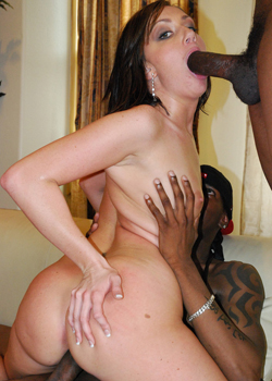 ip2 2 Two black guys team up to fuck a horny MILFs brains out